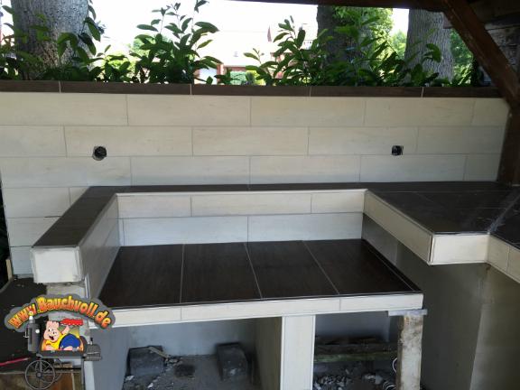 Outdoor Küche Mauern : Meine outdoorküche hier ist endlich der baubericht