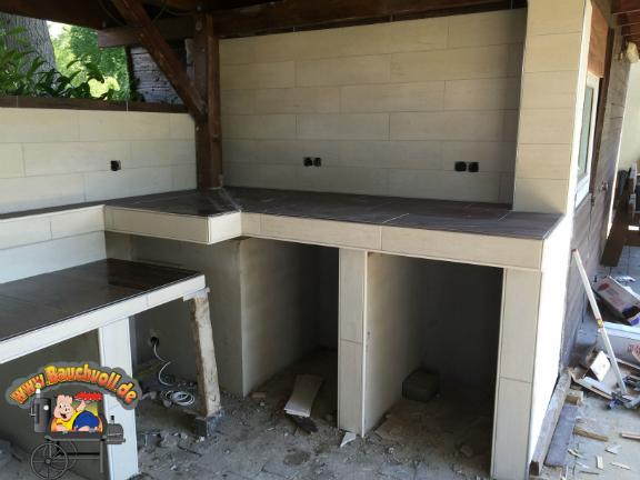 Outdoorküche Arbeitsplatte Küche : Diy upcycling outdoor küche aus einer werkbank leelah loves